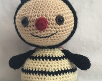 Dottie the Crochet Lady Bug