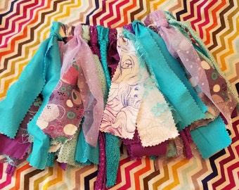 Little Mermaid Ribbon Skirt