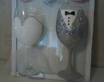Bride and Groom Plaque