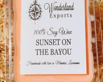 Sunset on the Bayou Wax Tarts