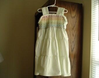 Ruffled Gypsy girls dress Size 4