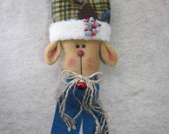 """Reindeer pattern:  """"Reindeer Knobbie"""" #627"""