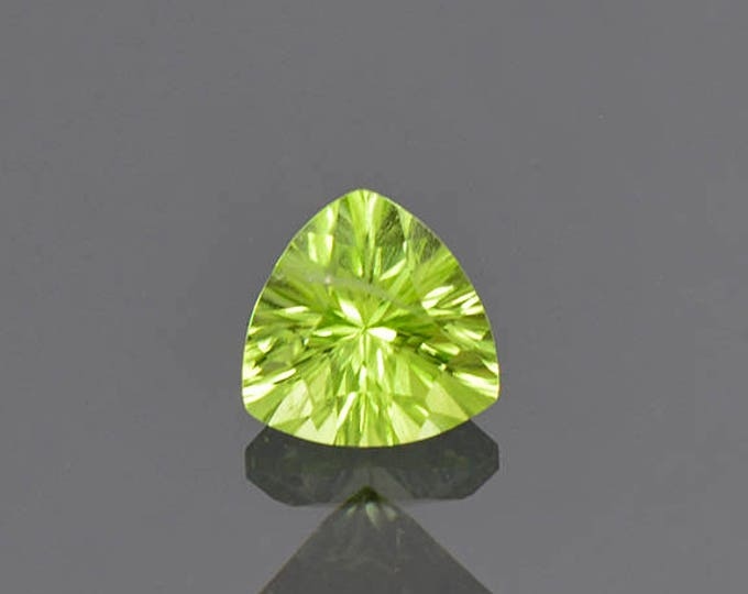 Fabulous Mint Green Peridot Gemstone from Pakistan 1.29 cts.