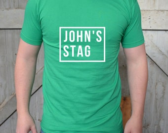 Personalised Shirts -  Bachelor Party - Stag Party - Vegas Bachelor Party- Favors Stag Party - Stag Party Shirt - Groomsmen Shirts
