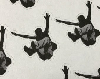 Parkour Stickers - Gymnastics