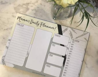 Mama's Daily Planner | Mum's Planner, Mama Stationery, Family Planner