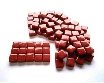 Micro Mosaic 8mm Tiles 100 pack Mosaic Heaven Micro Mosaic Tiles, Red F1 Tesserae, Tessera.