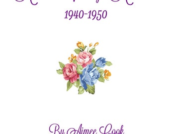 Aimee's Vintage Armoire 1940-1950 Sewing Pattern Book