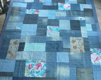 patchwork in jeans