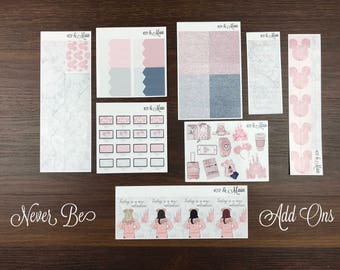 Never Be Kit Add On Planner Stickers