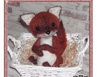 E-Pattern PDF for Little Fox Kyssu ca.22cm PDF
