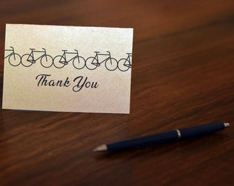 4x6 Bicycle Thank You Card for Pan-Mass Challenge