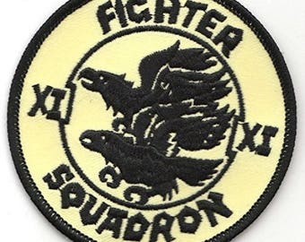 RAF No.11 Fighter Squadron Royal Air Force Military Embroidered Patch