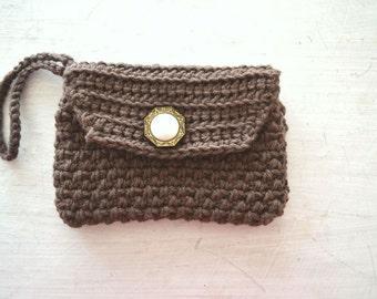 Crochet Wallet Pattern Wristlet Clutch Pattern PDF Instant Download DIY Beginner Crochet