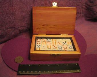 PETITE Cedar DOMINO BOX--Forrest Green