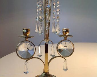 Swedish gold-plated chandelier