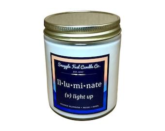 Hopeful | Soy Candles | Hope | Orange Blossom Musk | Candle | Home Decor | Candle Gift | Illuminate | Decoration | Housewarming