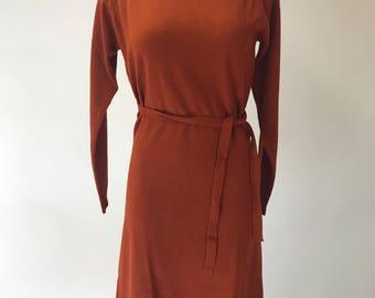 1960's Dead Stock Knit Sweater Dress