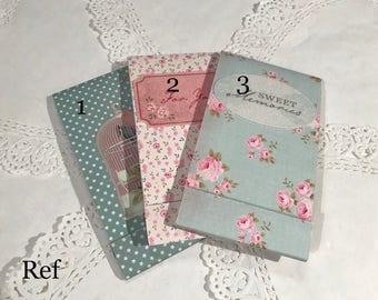 Small romantic notebook