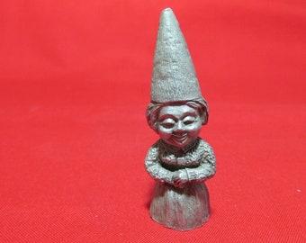 Pewter Elf Gnome Figurine