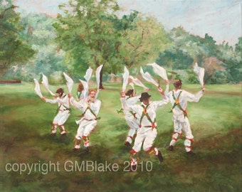 Half-Gyp, Morris Dance - original art