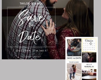 Save the Date Template- Bold