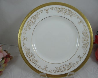 "Vintage Royal Doulton English Bone China Salad Plate ""Belmont"" Pattern - 3 Available"