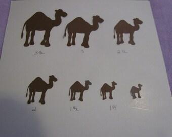 camel die cuts