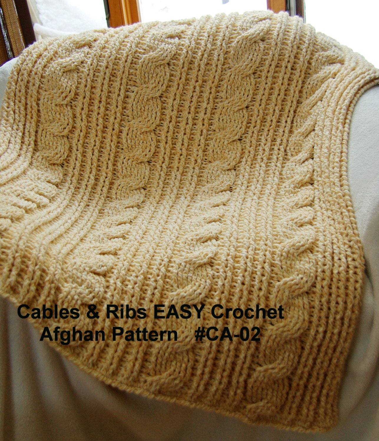 Easy Cable Stitch Crochet Patterns Topsimages