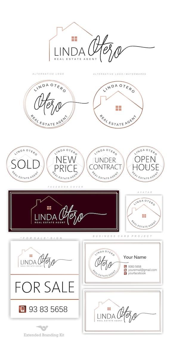 Real estate logo design house logo realtor logo luxury colourmoves