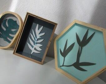 Decorative frames JUNGLE