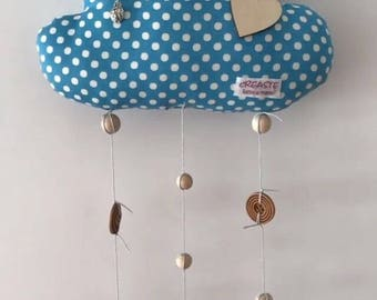 Decorative cloud for kids room