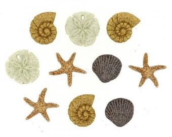 Dress it up buttons - Seashells At The Seashore