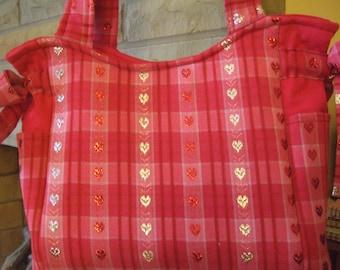 Heart Handmade Purse/Tote/Handbag!