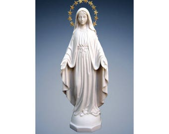 Our Lady Grace resin statue ornament Catholic Virgin Mary