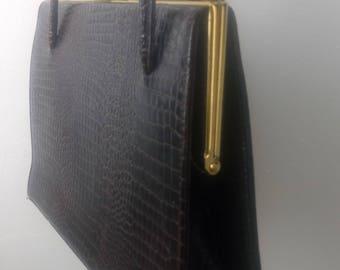 Brown vintage Kelly bag
