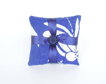 Cotton / Linen / Silk Lavender Sachet