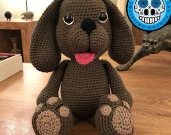Puppy pattern, amigurumi puppy pattern, crochet puppy pattern, dog pattern, amigurumi dog pattern, crochet puppy pattern