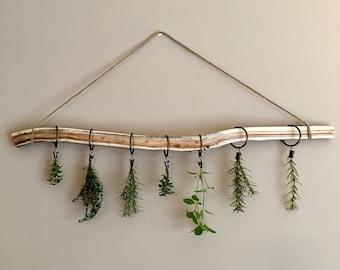 Mimosa Branch Herb Drying Rack