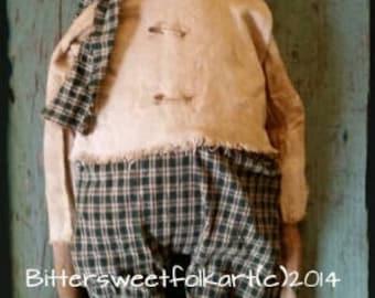 Percy Snowman E pattern #127