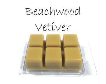 Beachwood Vetiver Scented Soy Wax Tarts