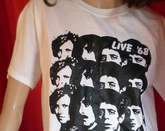 VELVET UNDERGROUND live 68 shirt Lou Reed tee John Cale 60s Sonic Youth punk hippie heroin t-shirt retro 70s NYC new york Pere Ubu No Wave
