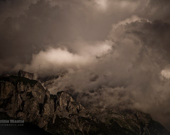 Clouded Mountain | Photography | Limited edition