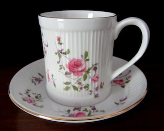 Crown Fine Bone China Teacup or Coffee Cup from Staffordshire England