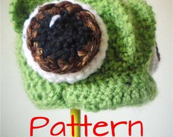 Crochet Hat Pattern - Pascal crochet hat pattern - pascal costume pattern - easy crochet hat pattern