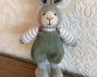 Hand Knitted Bunny Rabbit