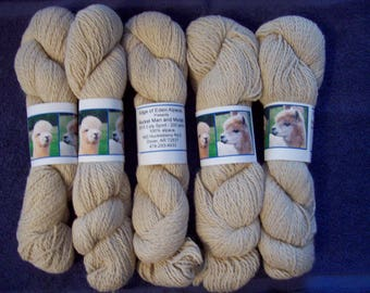 Alpaca Yarn - Rocket Man and Moriah (2 ply sport weight)
