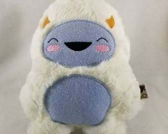 Furry Winter Yeti - Yeti Plush - Abominable Snowman