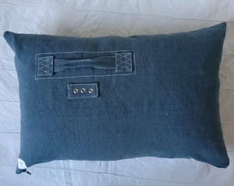 Cushion, pillow cover, cushion available pillow 60 x 40 cm cushion grey, old