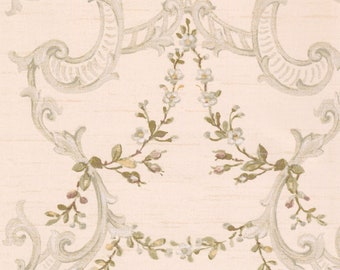 Nantucket Floral & Ornamental Wallpaper  Removable Wallpaper Roll NK2080